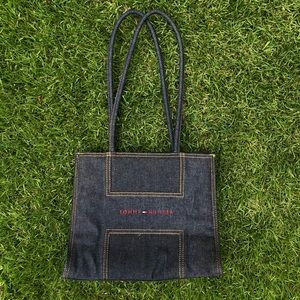 vintage tommy hilfiger denim bag